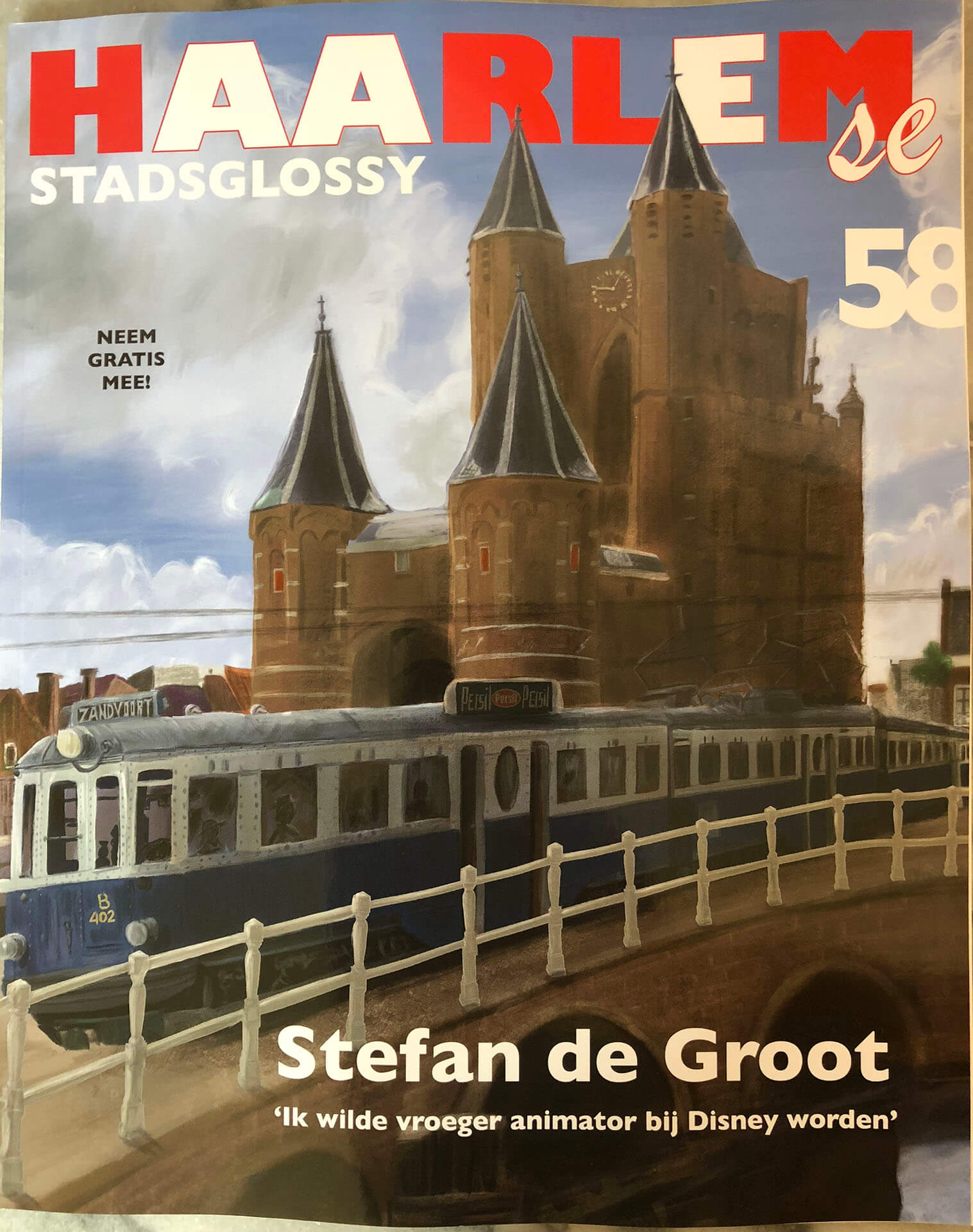 Haarlemse Stadsglossy 58 cover Stefan de Groot