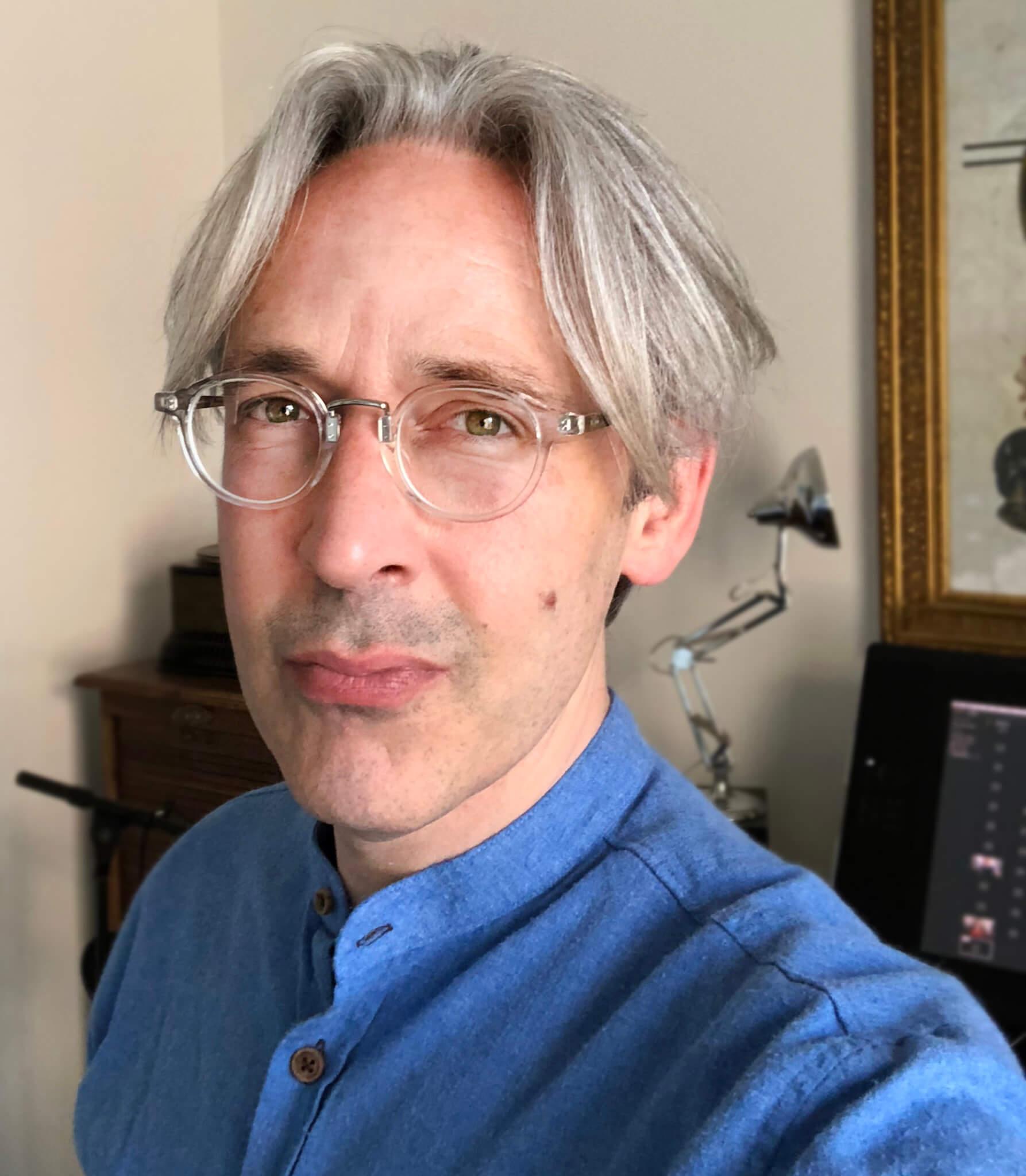 Portret kunstenaar Stefan de Groot