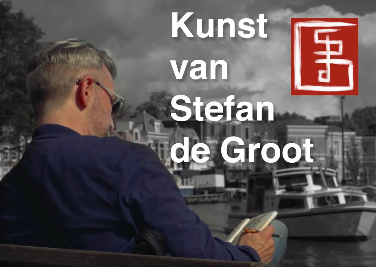 Stefan de Groot multimedia kunstenaar