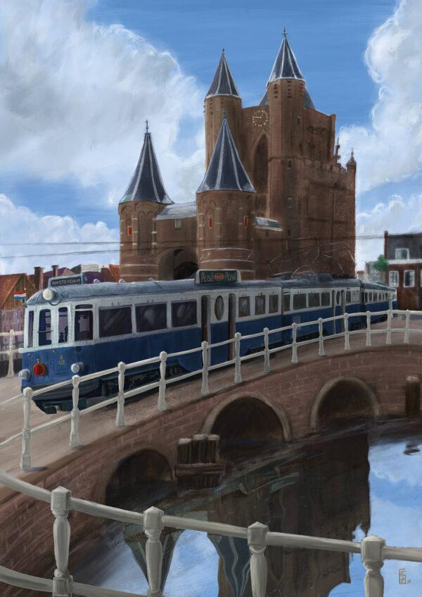 Amsterdamse Poort Haarlem Stefan de Groot