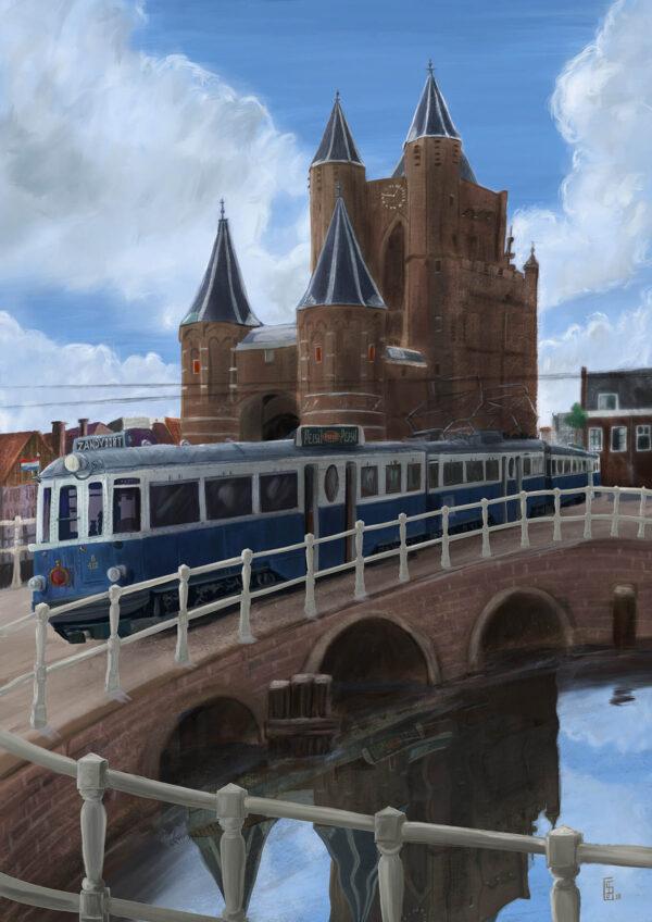 Stefan de Groot Amsterdamse Poort Haarlem Blauwe Tram