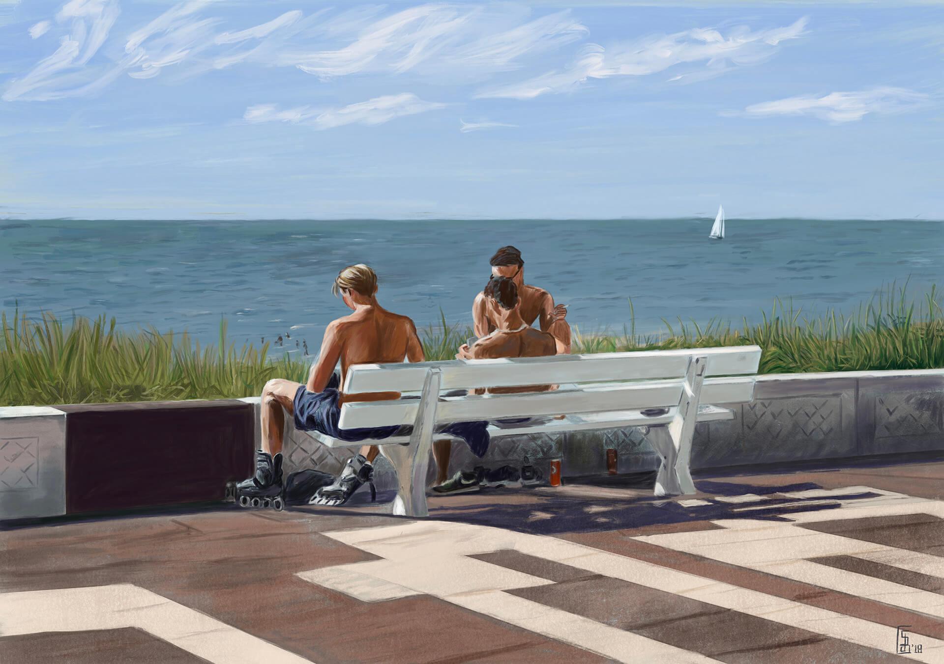 Stefan de Groot Beach Dudes Zandvoort