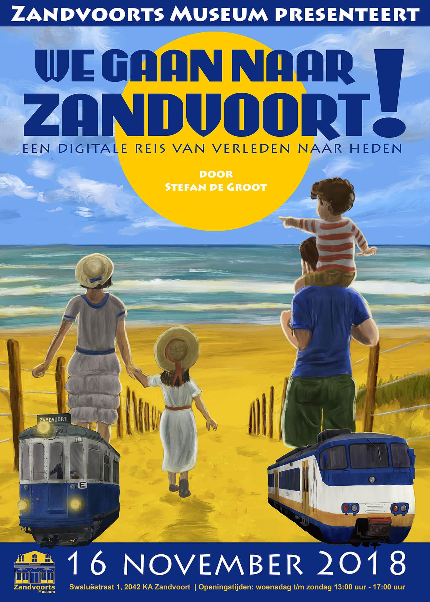 We Gaan Naar Zandvoort! poster Stefan de Groot