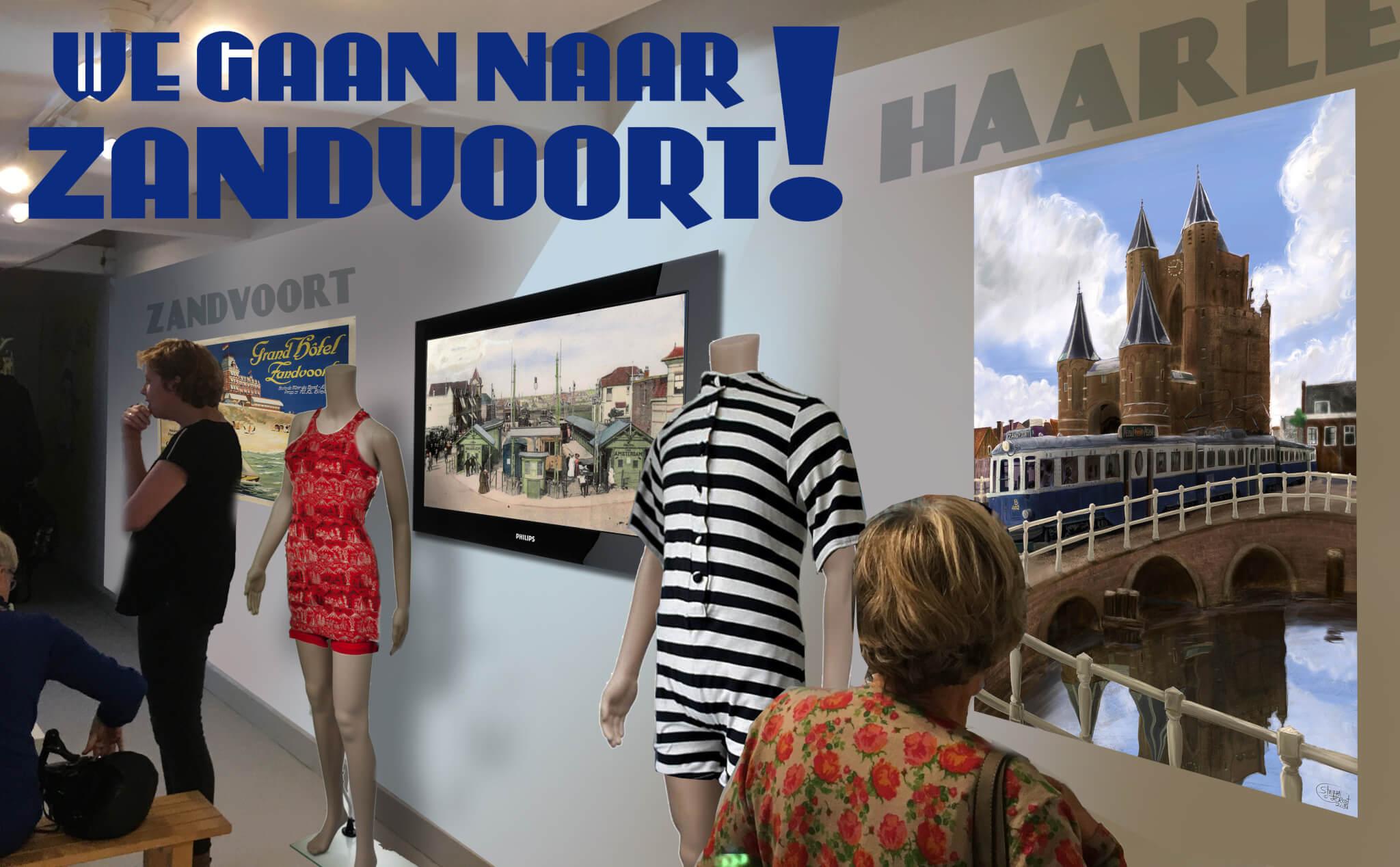 We Gaan Naar Zandvoort! Impressie Zandvoorts Museum