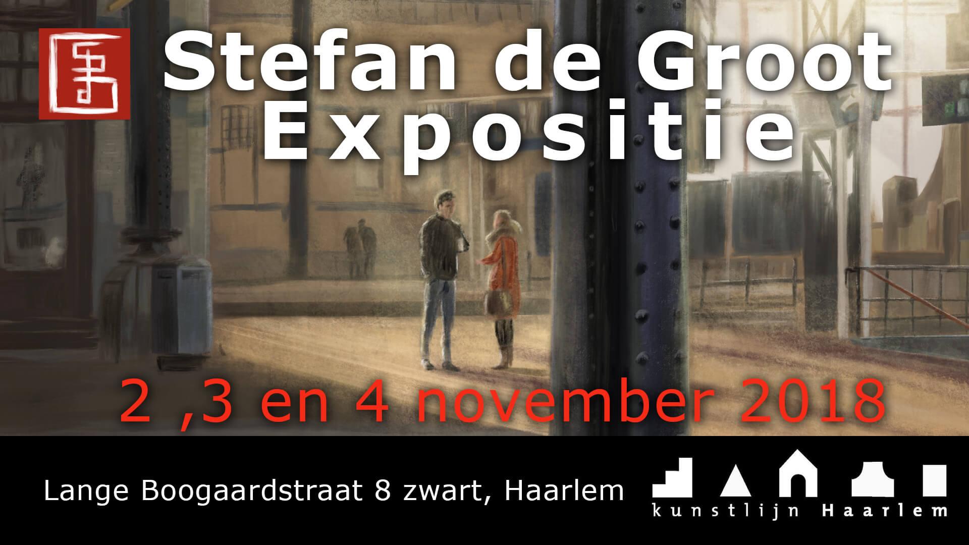 Stefan de Groot Expositie Kunstlijn 2018