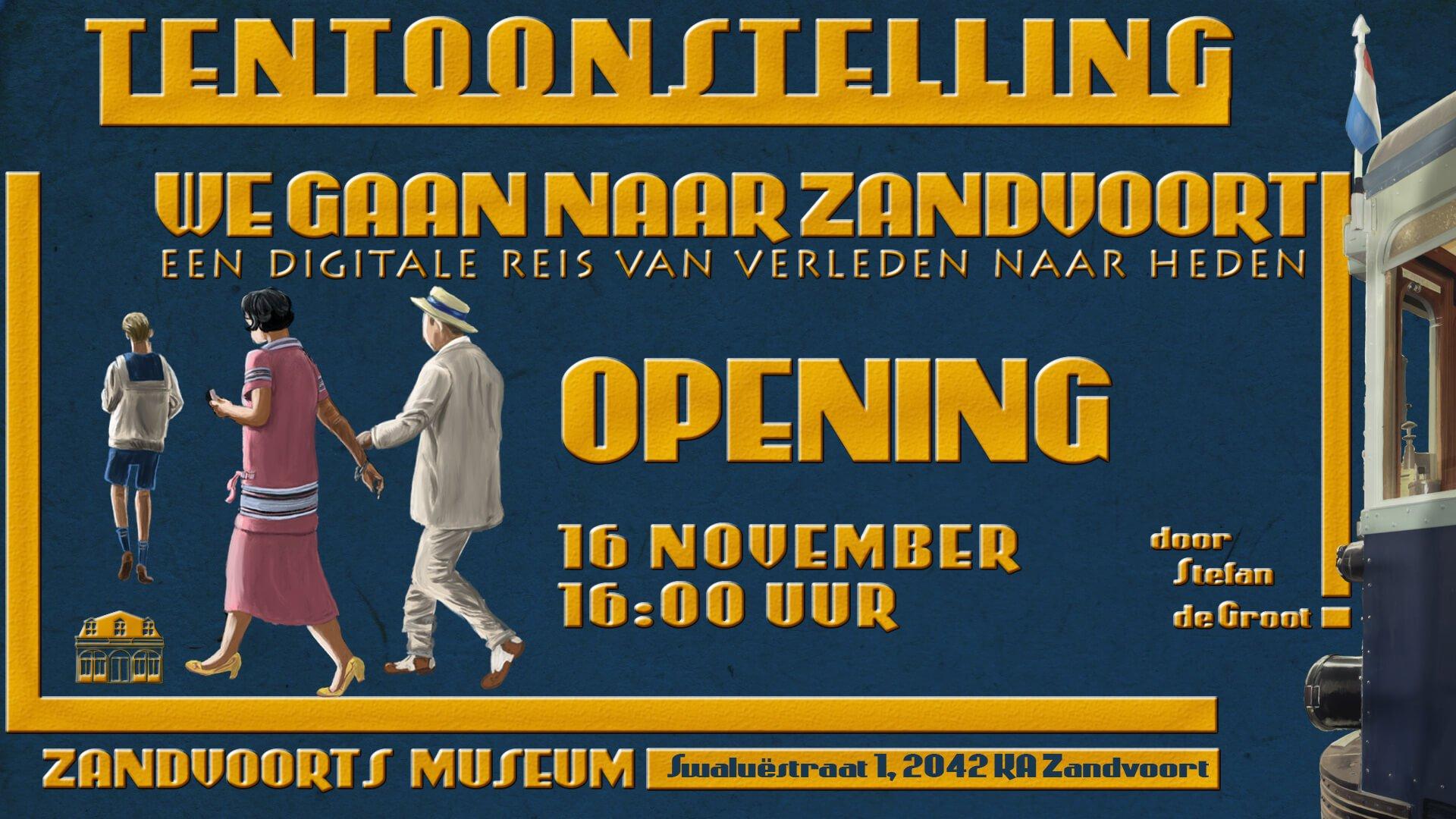 We Gaan Naar Zandvoort tentoonstelling Zandvoorts Museum