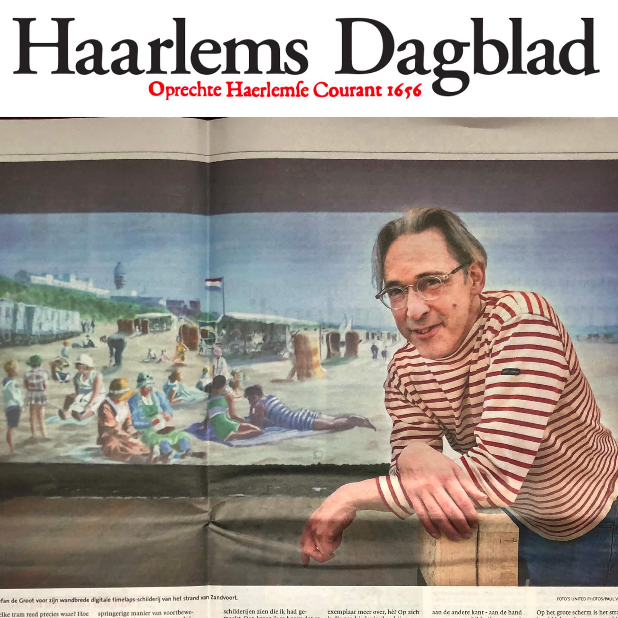 Stefan de Groot Haarlems Dagblad