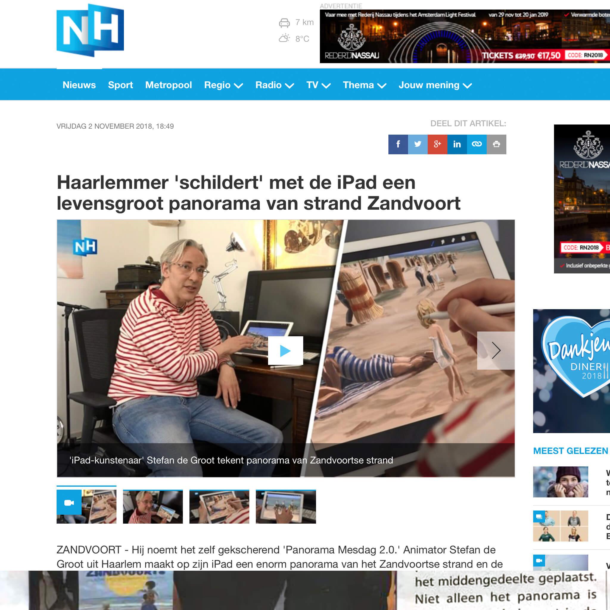 NNH Nieuws interview Stefan de Groot