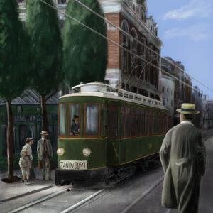 Spui Amsterdam 1904
