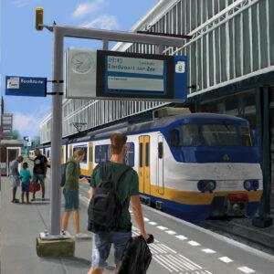 Station Haarlem Spoor 8 Stefan de Groot