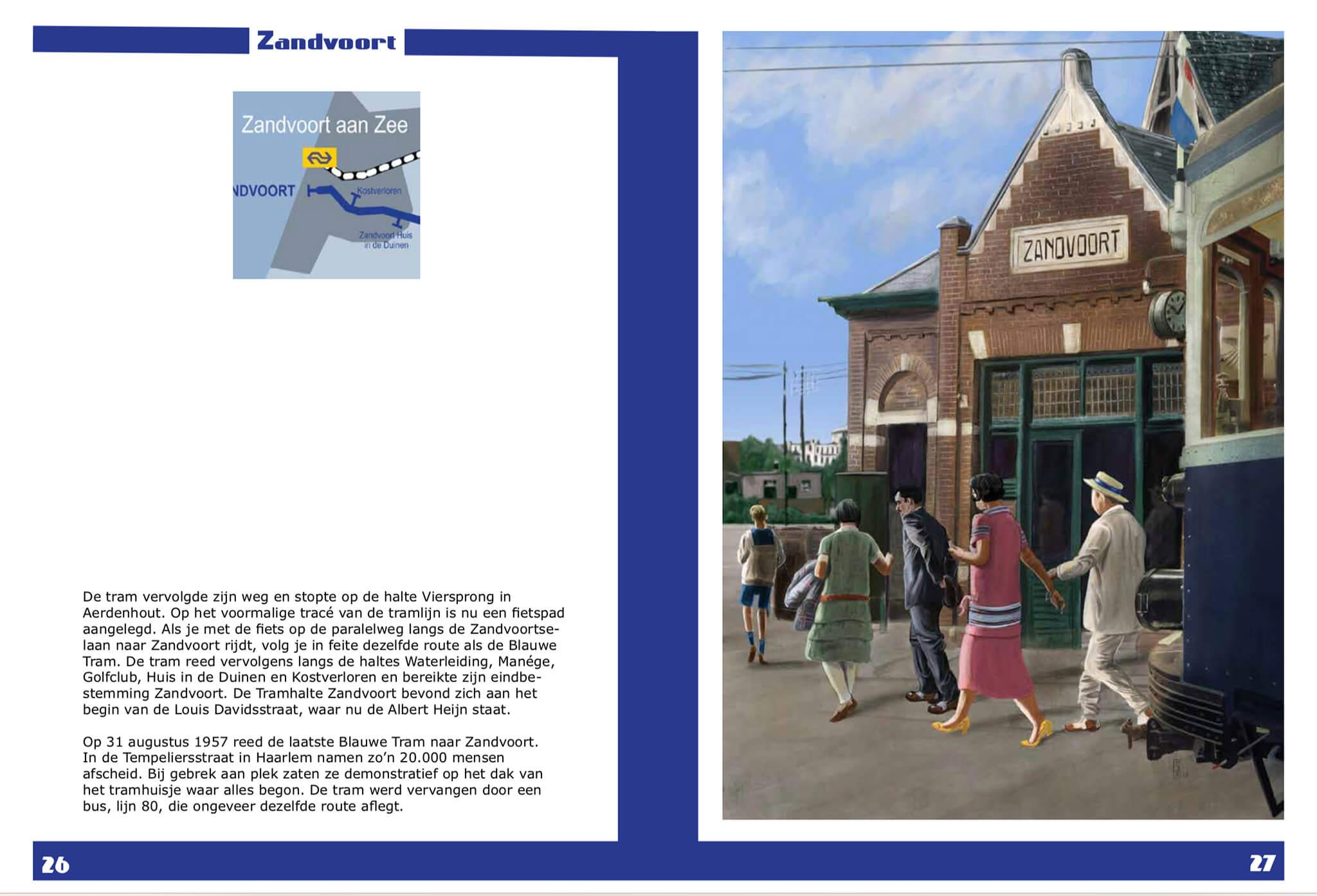 We gaan naar Zandvoort! een digitale reis van verleden naar heden Softcover boek door Stefan de Groot