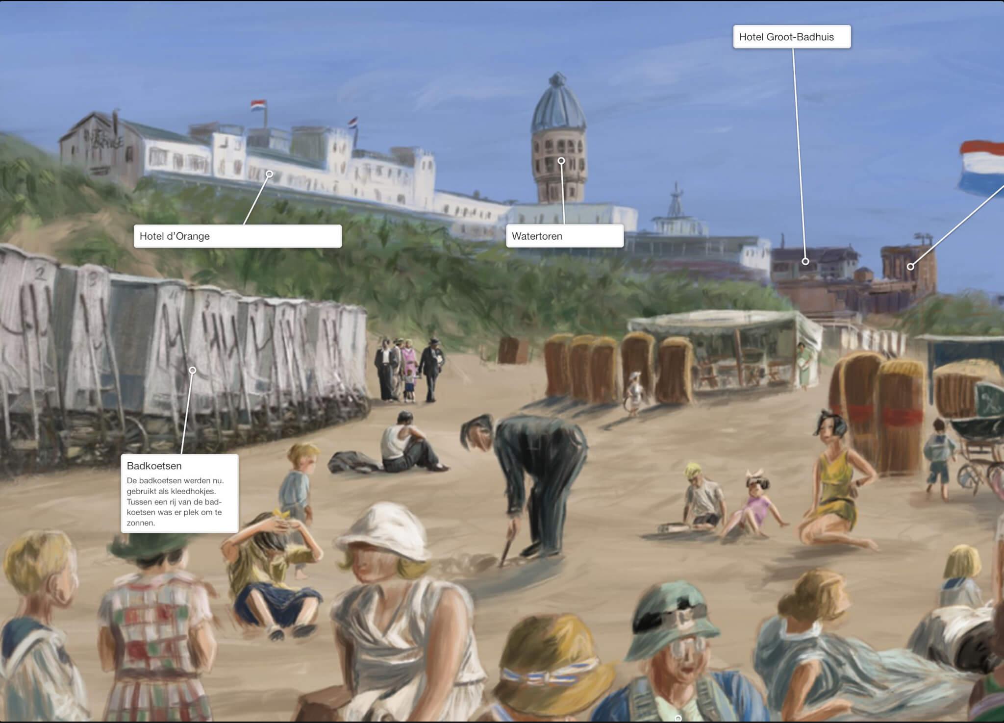 Panorama Zandvoort Stefan de Groot eBoek interactief
