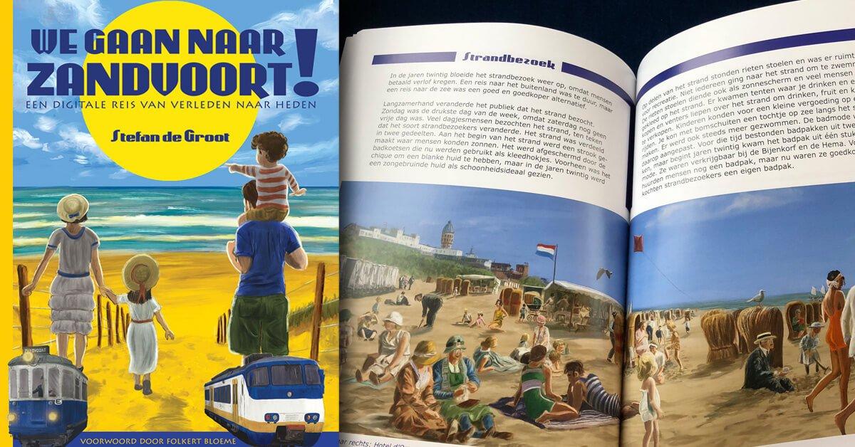 We gaan naar Zandvoort! boek Stefan de Groot