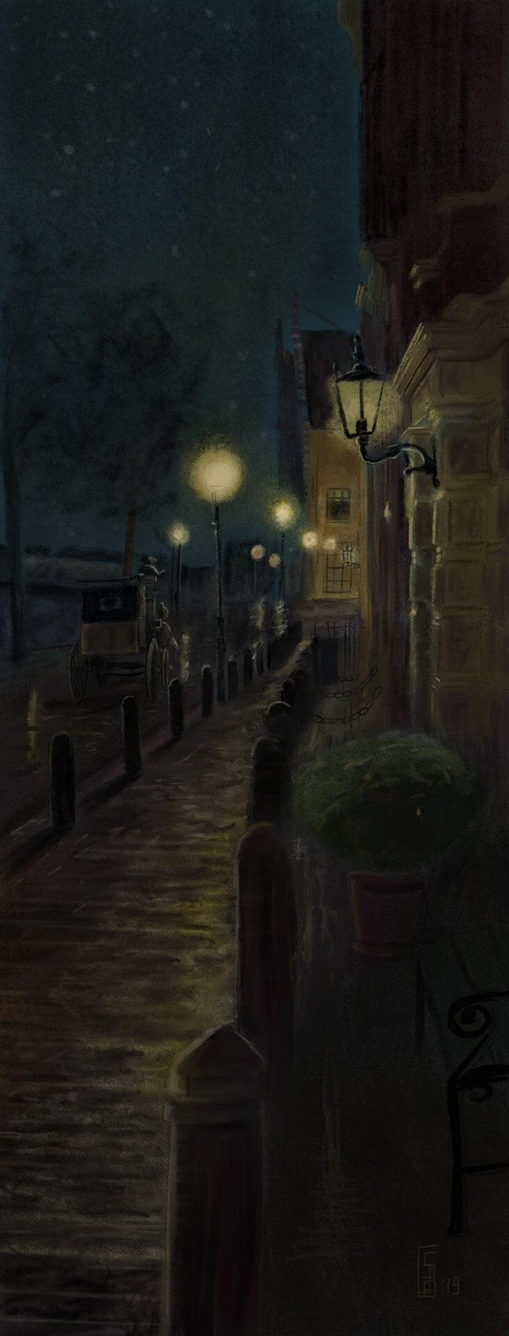 Op naar de Olyphant schilderij Stefan de Groot