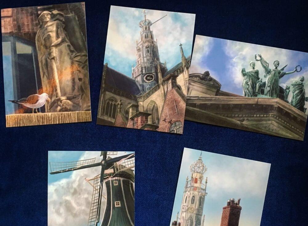 Look-Up Haarlem Ansichtkaarten