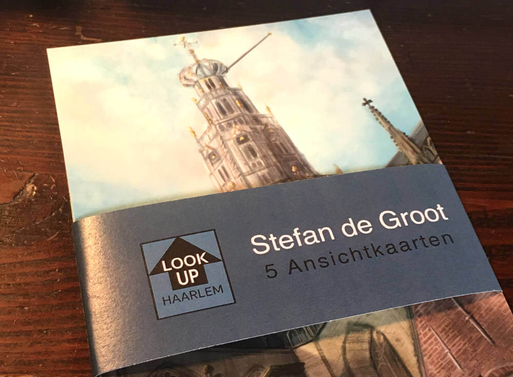 LookUp Haarlem Ansichtkaarten