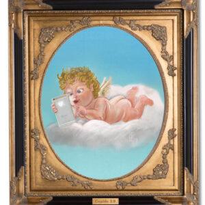 Stefan de Groot schilderij Cupido 2.0