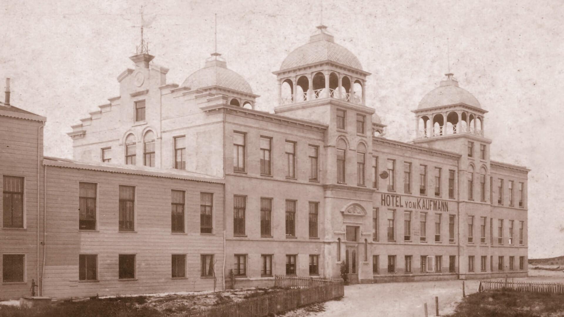Hotel von Kaufmann 1884 Zandvoort