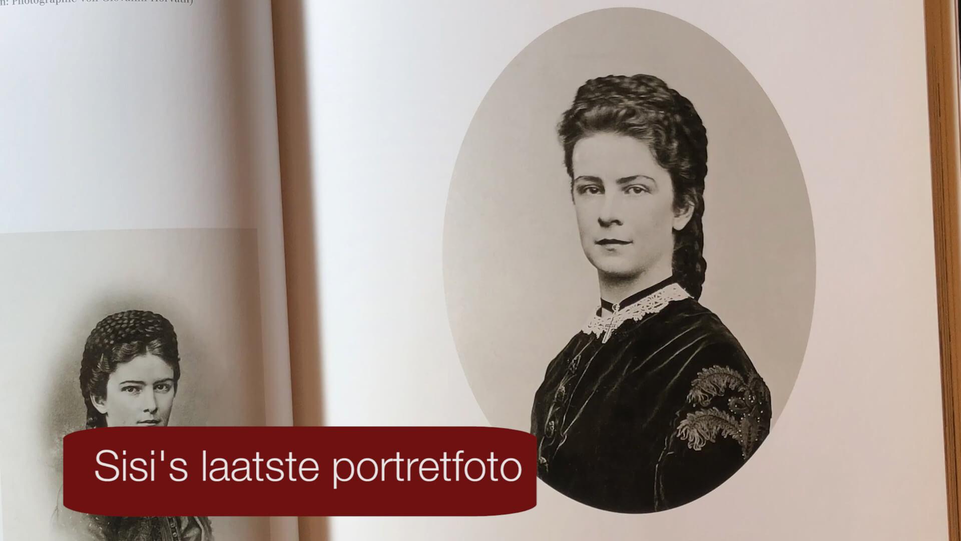 Keizerin Sisi laatste portret foto