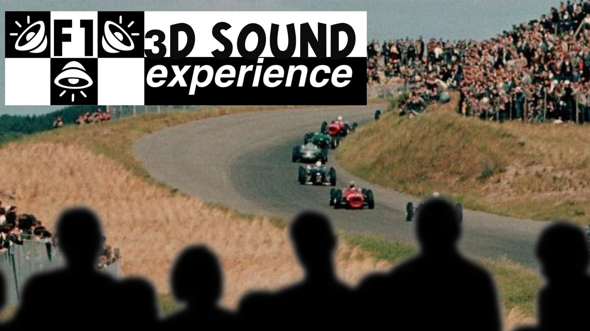 F1 3D Sound Experience Stefan de Groot