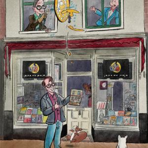 Jopo de Pojo stripspeciaalzaak met Joost Swarte door Stefan de Groot