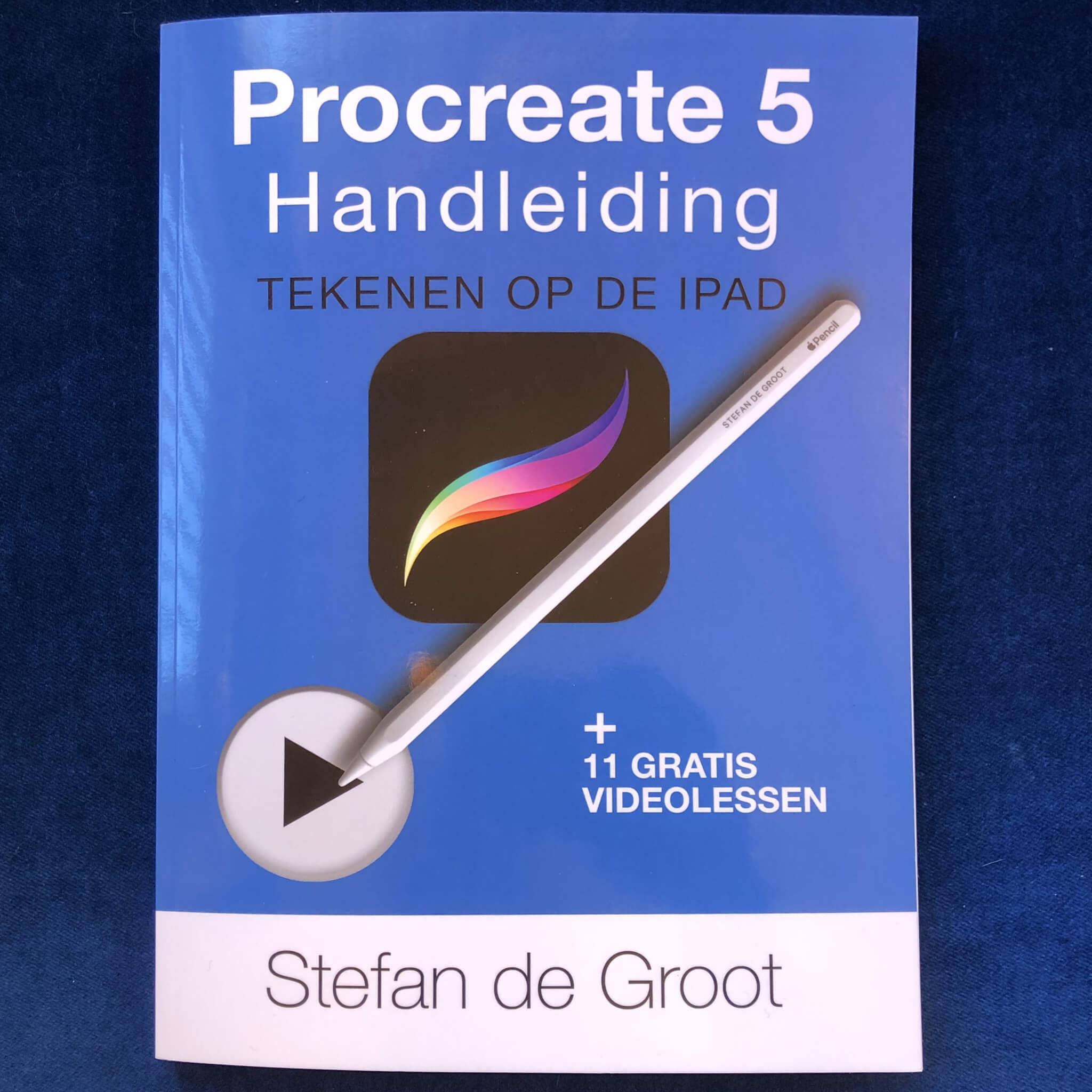 Procreate 5 Handleiding -Tekenen op de iPad