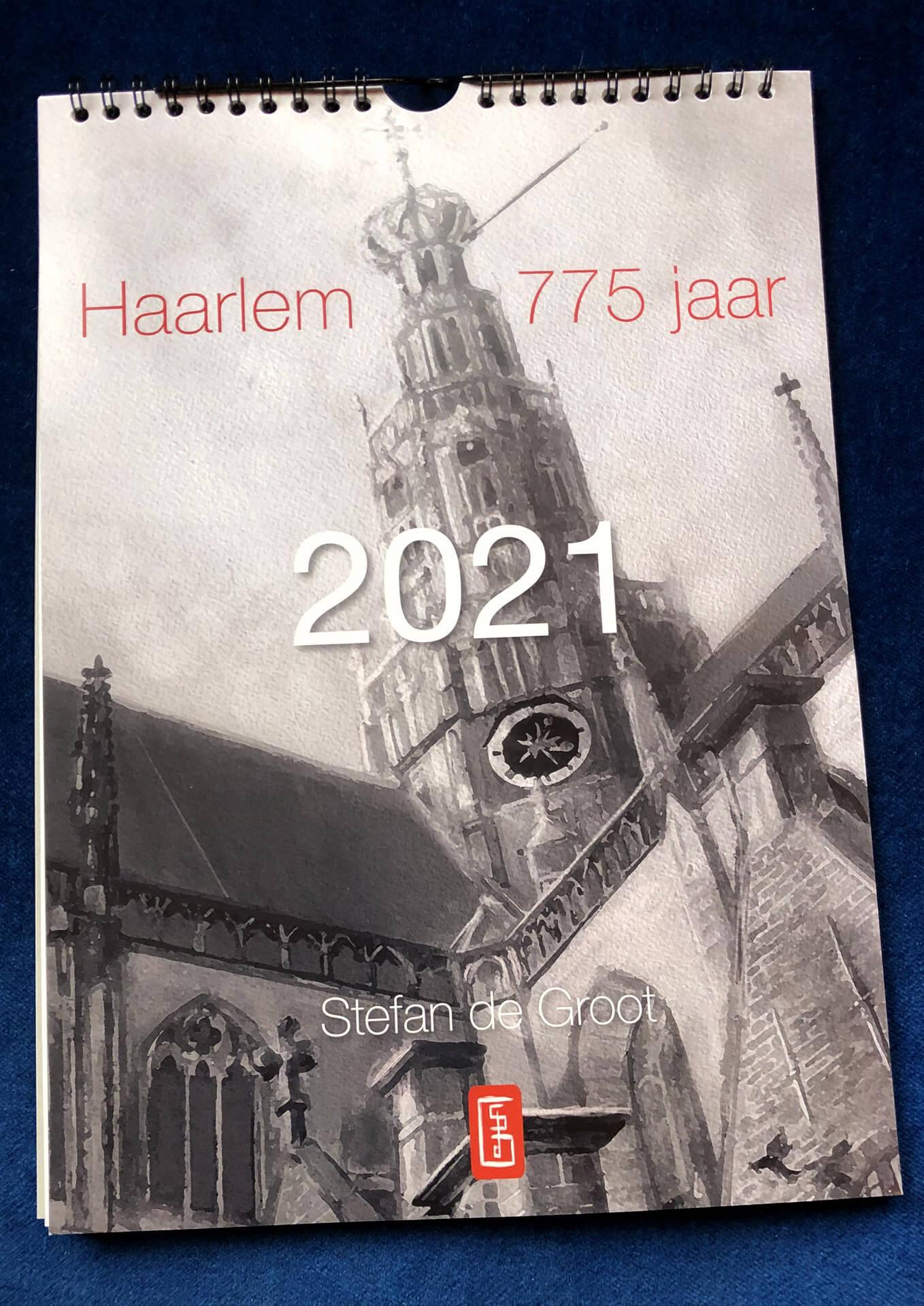775 jaar Haarlem kalender Stefan de Groot