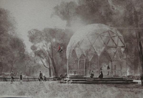 Haarlemmerhout 'Het Koepeltje'
